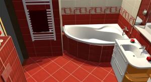 3D návrhy koupelej jindřicův hradec zdarma